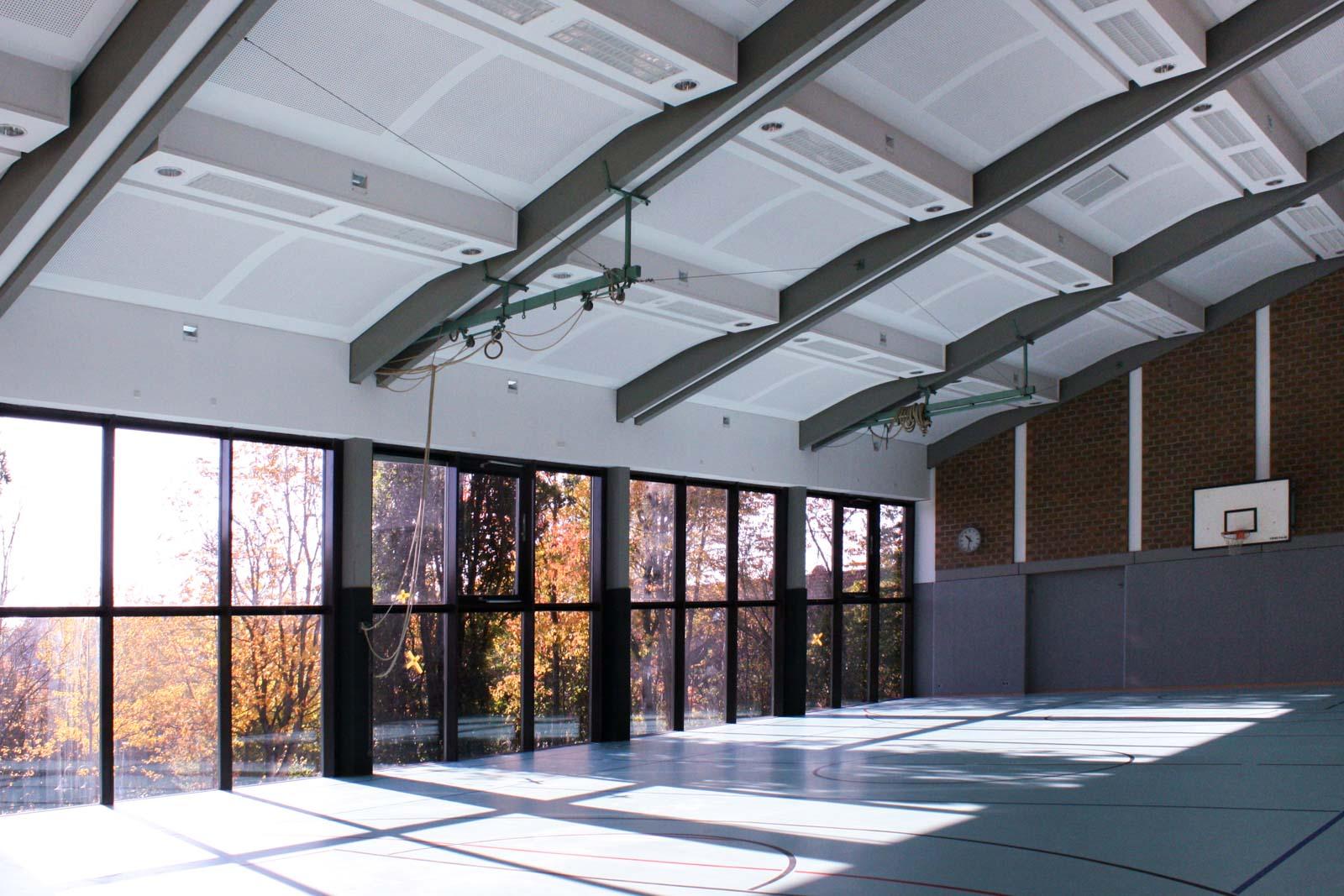Grundschule und Turnhalle Gerchsheim